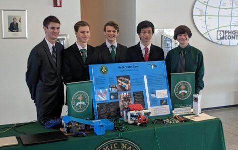 Academic Magnet Robotics Team Competes in the Nanoline Competition