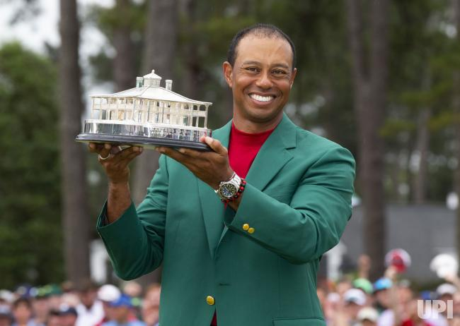Tiger+Woods+won+his+5th+Green+Jacket+this+year+%28his+first+Major+win+in+11+years%29
