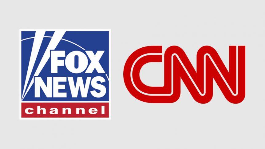 Fox+News+vs.+CNN