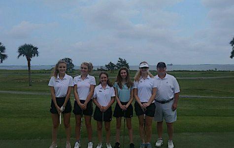 Meet the Girls' Magnet Golf Team