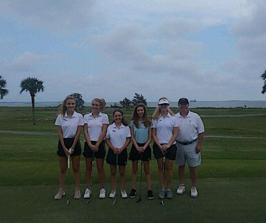 Meet the Girls Magnet Golf Team