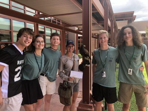 Four Students Saying Good-bye to the USA