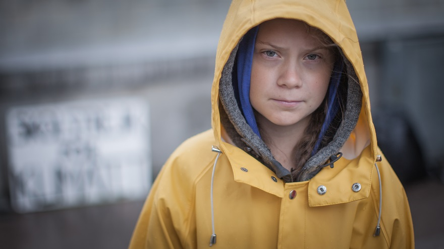 16+year+old+activist+Greta+Thunberg.