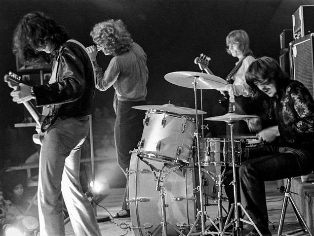 Led Zepplin at the Three Image Club in Miami, Florida, February 15, 1969.