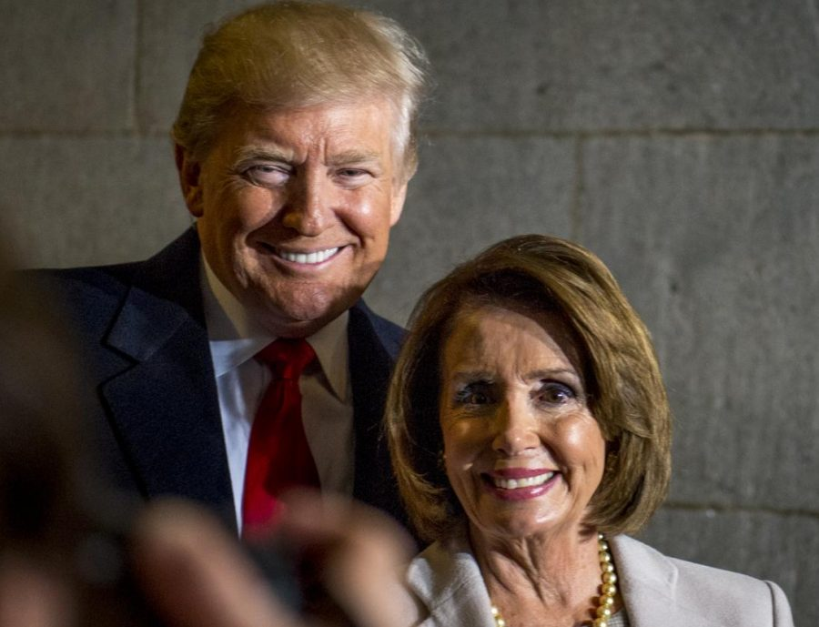 President Trump and Speaker of the House Nancy Pelosi
