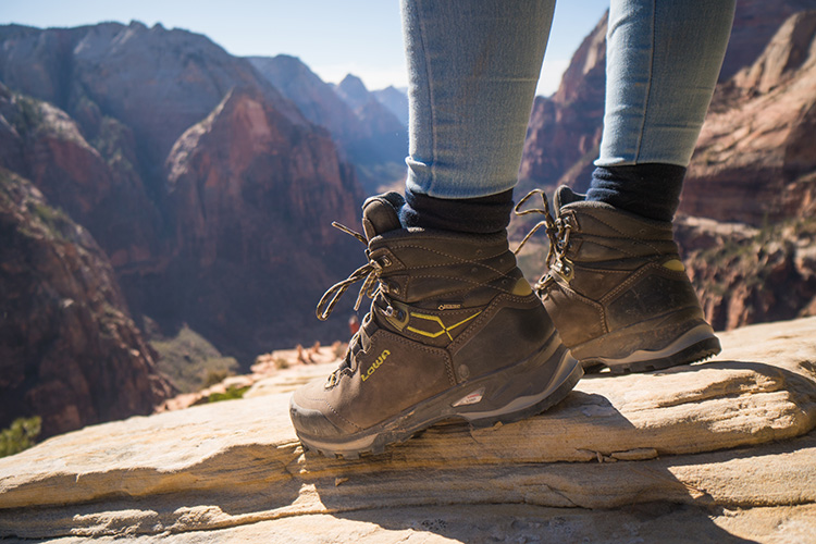 Hiking boots, courtesy of Max Seigal