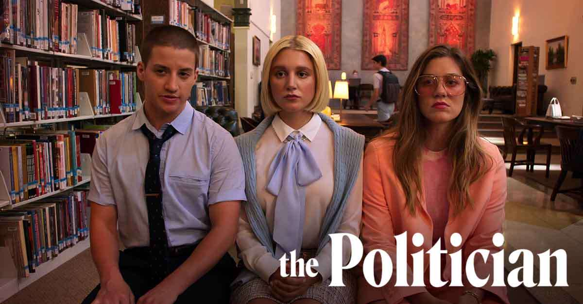 The Politician's Theo Germaine, Julia Schlaepfer, Laura Dreyfuss