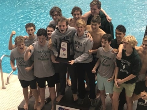 Magnet Swimmers Win  2nd place in State 3A Championship!