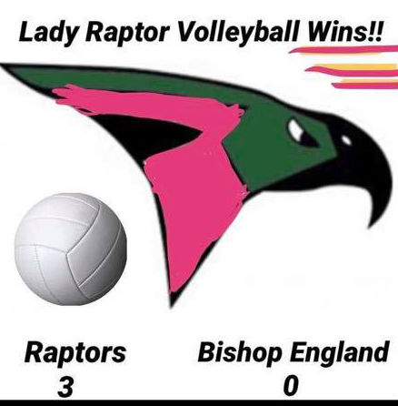 Volleyball sweeps Bishop England again!