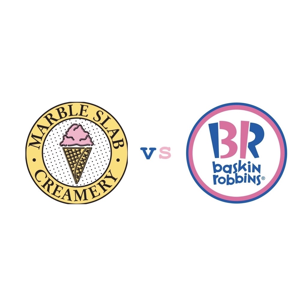 Marble Slab vs Baskin Robbins