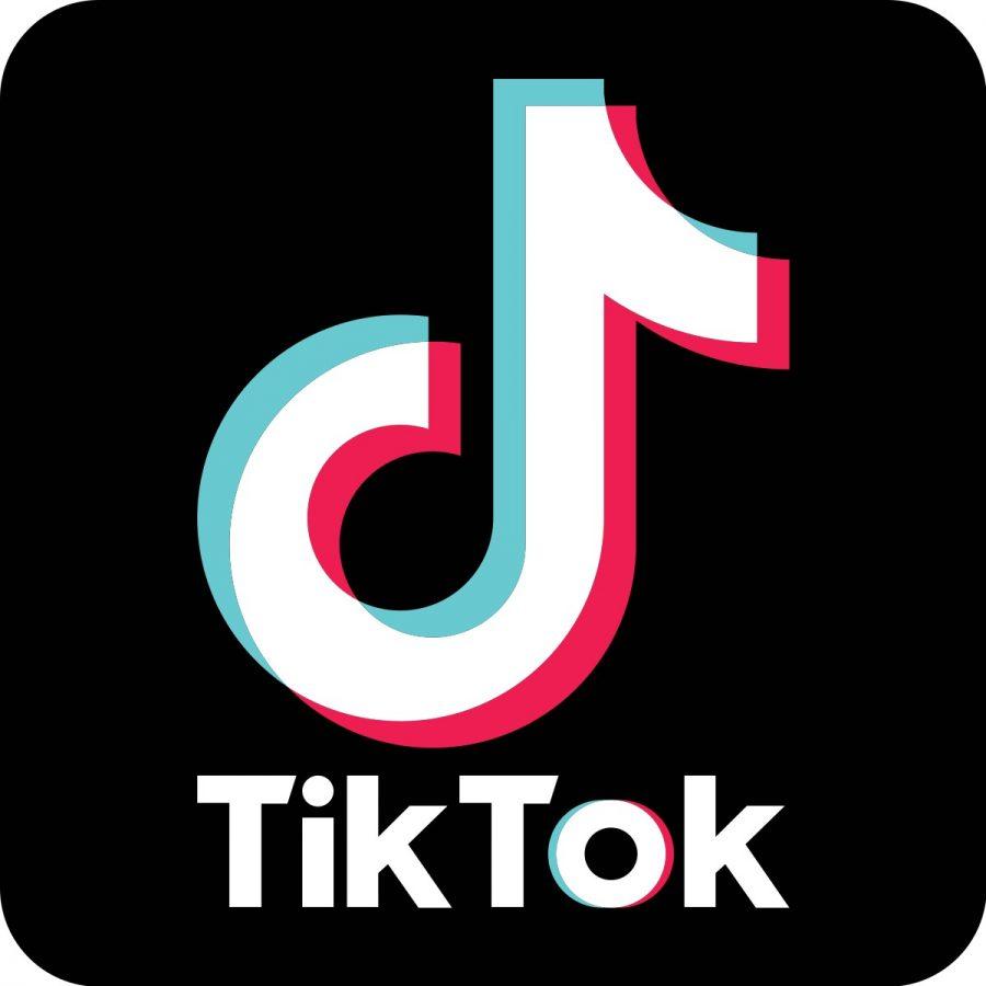 The famous Tik Tok logo
