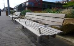 Hostile Architecture: City Benches