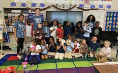 Student Council Donates Gifts to North Charleston Elementary School