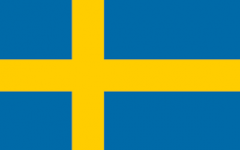 The Swedish Flag is Blue and Yellow