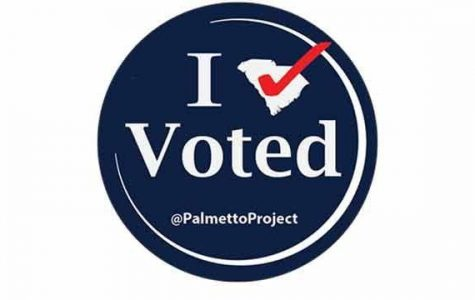 The SC Palmetto Project provides stickers for voters each and every year
