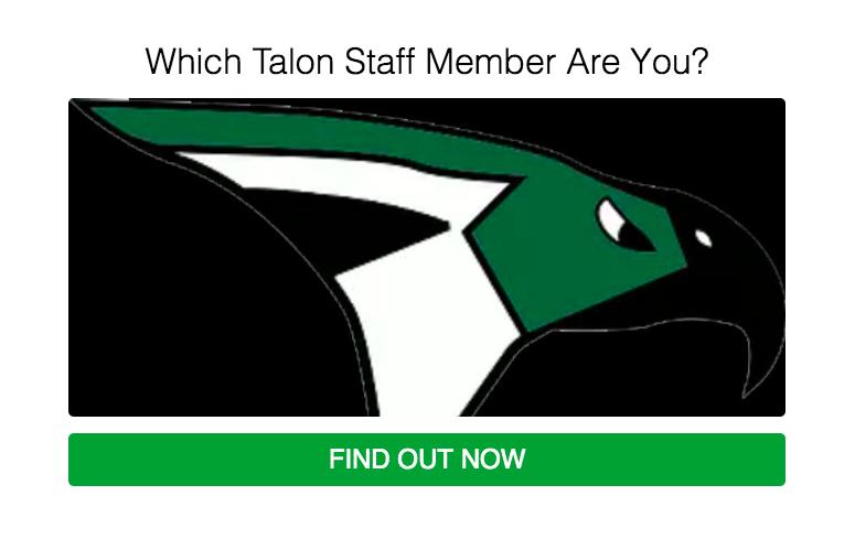 Which Talon Staff Member Are You?