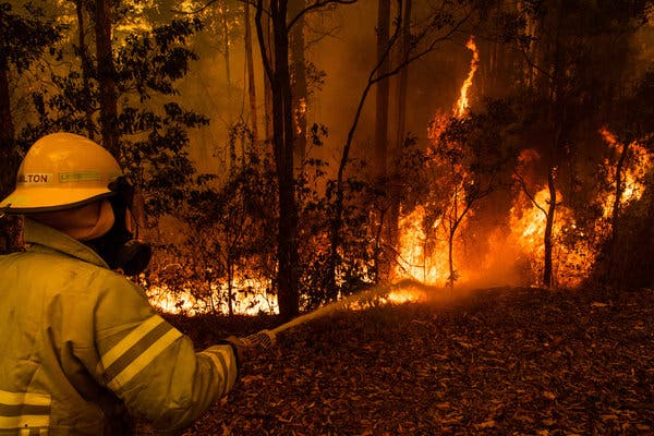 Australian Fires Continue to Spread Unchecked