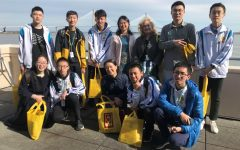 Chinese Students visit AMHS