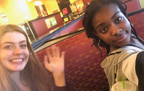 Us at Moes!!!!