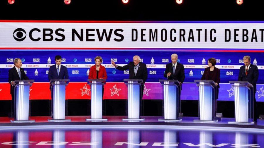 the CBS News Debate in Charleston 2/25