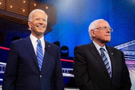 Biden and Sanders.