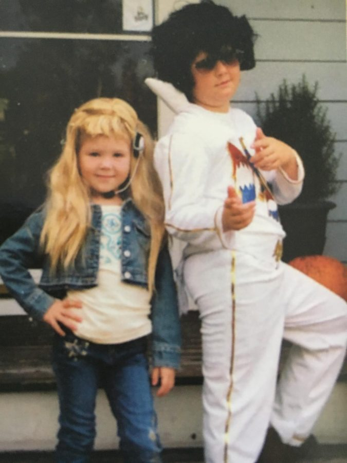 Hannah Montana & my brother Jack is Elvis