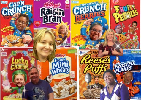AMHS Faculty Embodied as Cereals