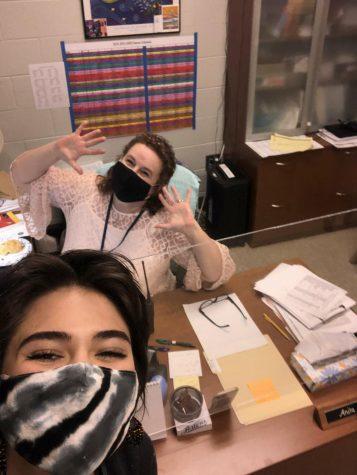 Interviewing Mrs. Vogel