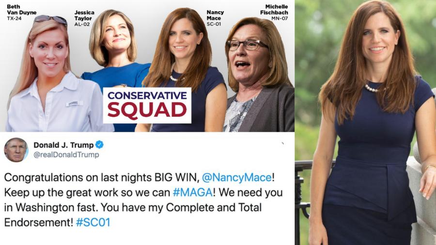 Who is Nancy Mace?