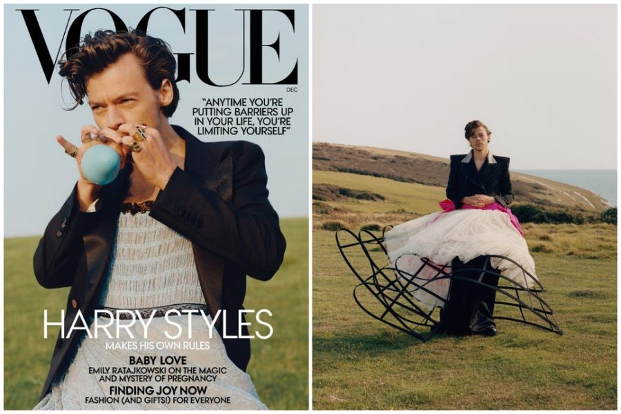 Defending Harry Style's Vogue Spread