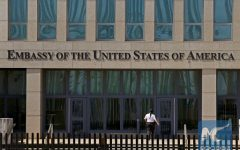 The United States embassy in Havana