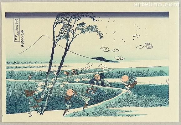 My Favorite Views by Hokusai