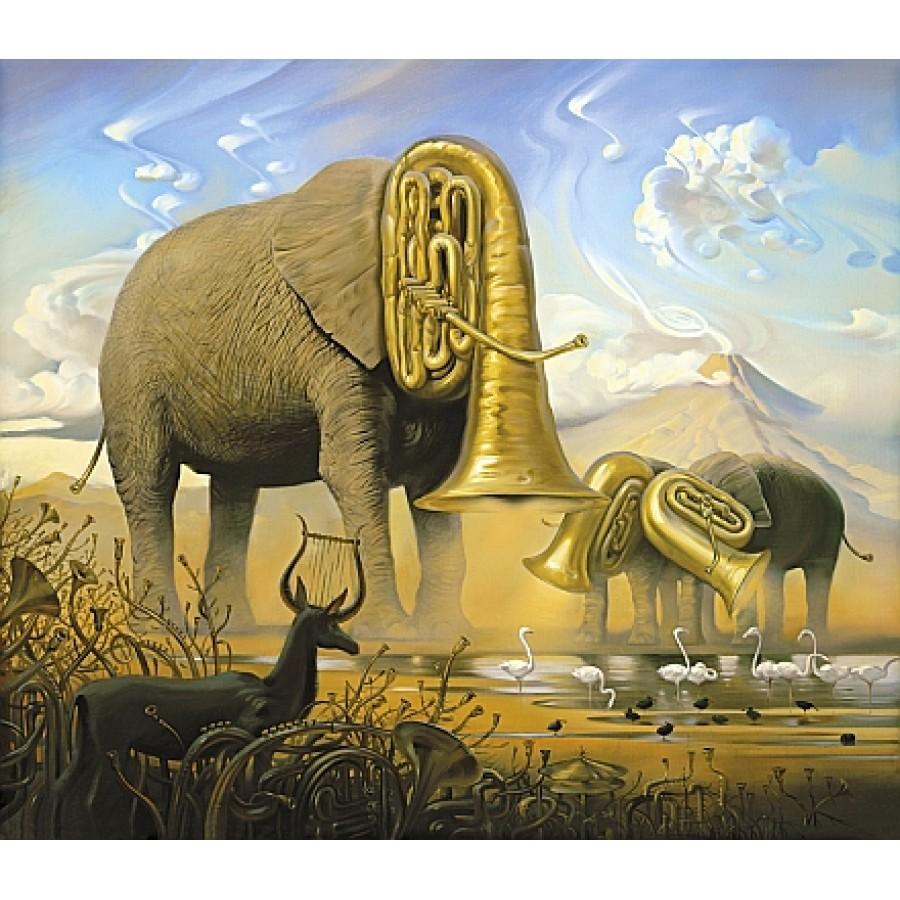 African+Sonata+by+Vladimir+Kush