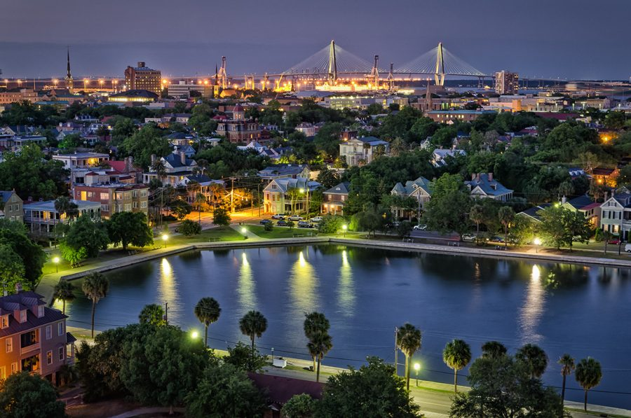 Charleston... All the Stops from sunrise to Sunset