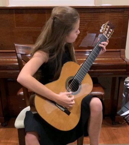 Anna Clifford Makes All-National Guitar Ensemble