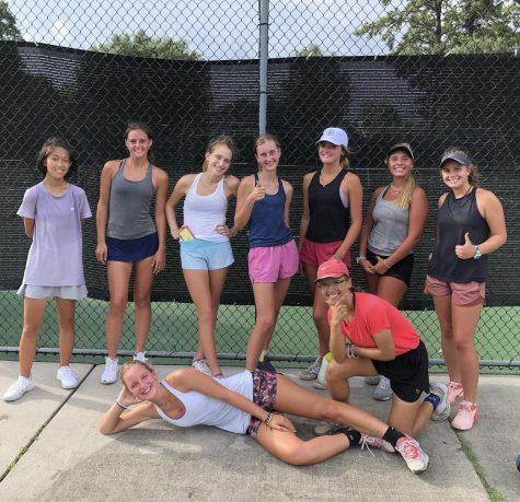 Meet the 2021 Girls Tennis Team