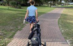 AMHS Girls Golf Team Goes 2-0