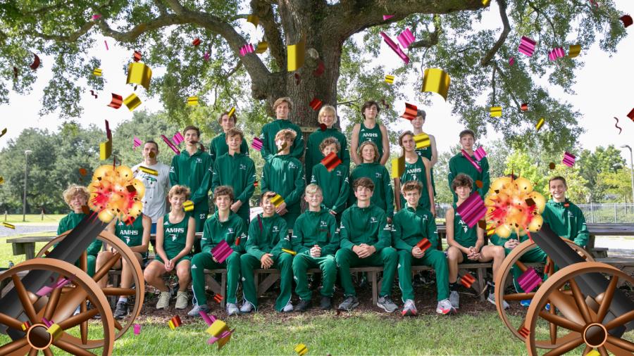 Meet the AMHS Boys Cross Country Team!