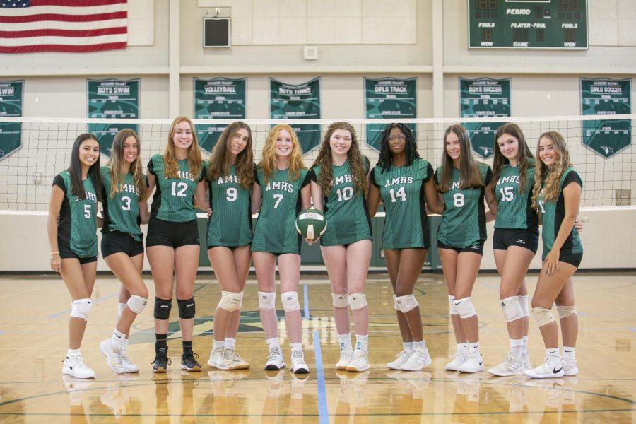 Meet the 2021 Varsity Volleyball Team