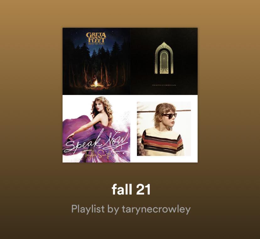 My+2021+Fall+Playlist